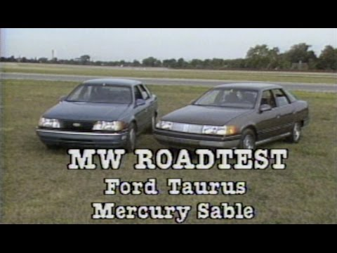 Retro Review: 1986 Ford Taurus & Mercury Sable