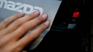 Гремит задняя дверь, как устранить. На примере Mazda Bongo Friendee