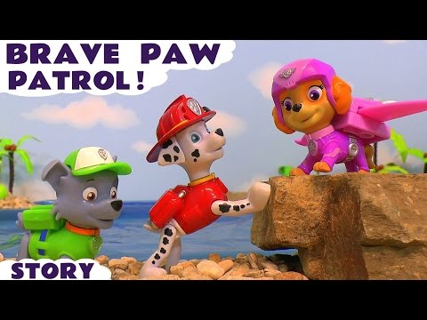Paw Patrol Brave Rescue Episodes Compilation with Thomas and Friends Mashems and Cars Frank TT4U