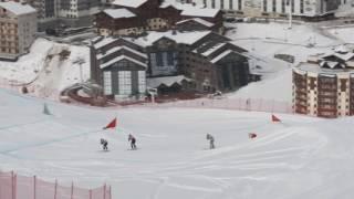 Ski cross val thorens 11 janvier 2017 finale dames