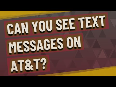 Can You See Text Messages On AT&T?