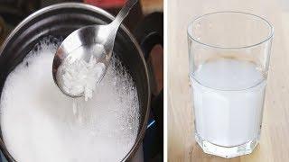 Trink ein Glas Reiswasser und du wirst überrascht sein, was passiert!