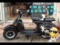 Bajaj Chetak A to Z Fully Cleaning