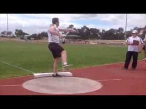 Lachlan Page 15 years old 17.98m 5kg Shot Put
