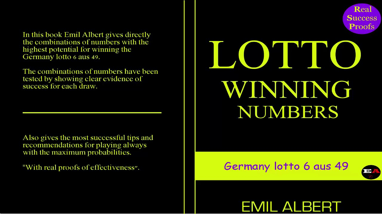 Lotto 6 49 Germany