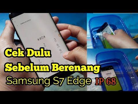 3 Cara Mengecek HP samsung anti air tanpa harus direndam / Pressure Test Samsung