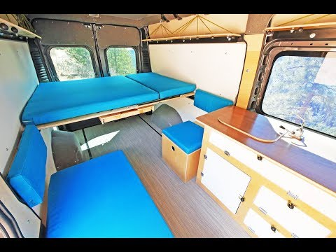 "Wayfarer Vans - Camper Van Conversion Kit for 159"" Promaster"