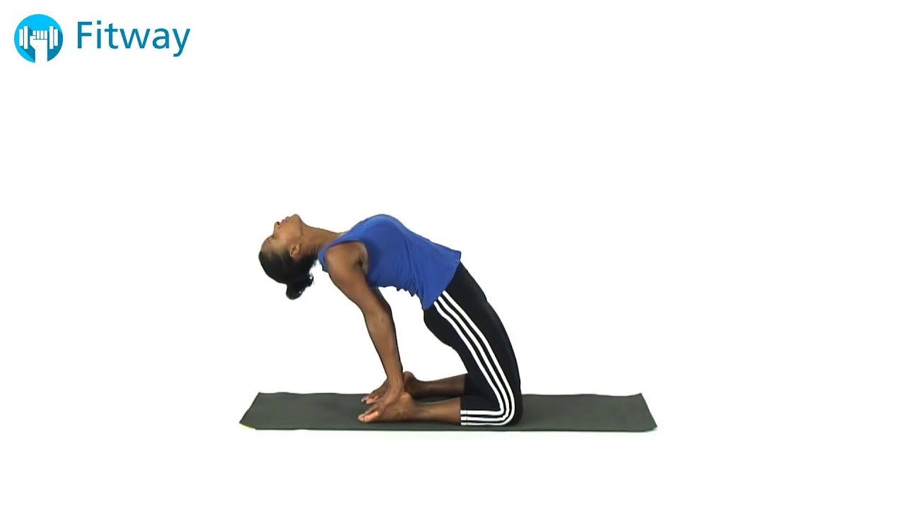 How To Do: Quadriceps - Kneeling Back Arch | Stretch ...