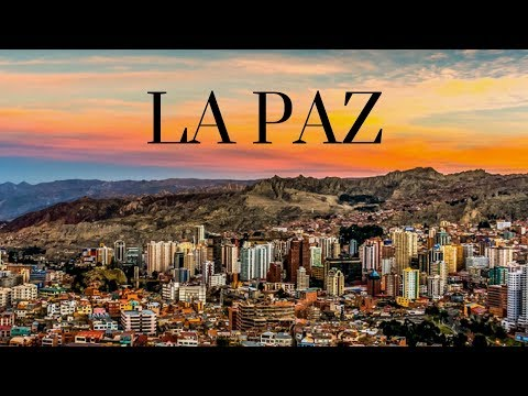 WALKING IN LA PAZ  BOLIVIA 2018