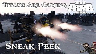 ARMA 3 - Warhammer 40k Mod (Sneak Peek) Titans Are Coming