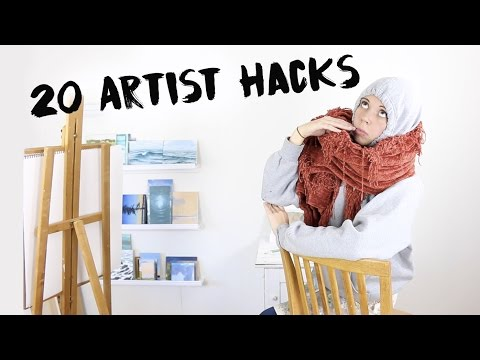Top 20 Artist Hacks (Painter!)