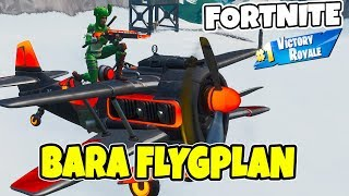 JUST AIRPLANES IN FORTNITE * AIR ROYALE * NEW EASTER SKINS