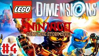 LEGO Dimensions Wii U Walkthrough - Ninjago: Elements Of Surprise