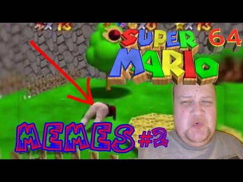 Super Mario 64 meme compilation (clean) REACTION!!!