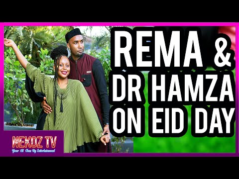 REMA NAMAKULA AND DR HAMZA ON EID DAY |  LOVE IN THE AIR