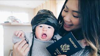 Baby Got His Passport! | HAUSOFCOLOR