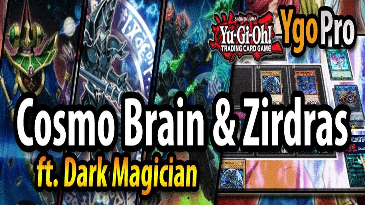 cosmo brain zirdras ygopro c c c combo dark magician 3 youtube