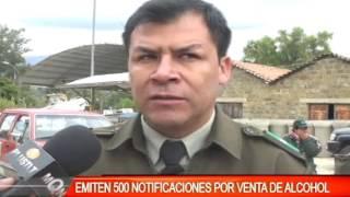 EMITEN 500 NOTIFICACIONES POR VENTA DE ALCOHOL