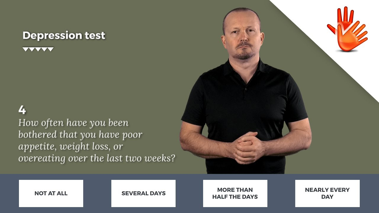 Depression Test Depression And Anxiety