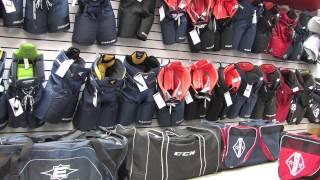 видео детская хоккейная экипировка москва