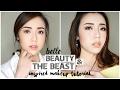 "Belle ""Beauty & The Beast"" Inspired Makeup Tutorial | Day to Night Look - Eva Rinjani"