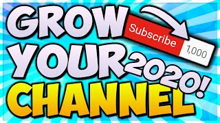 How To Get 1,000 Subscribers EVERY WEEK! *NEW 2020 TIPS* 📈 GROW On YouTube FAST In 2020