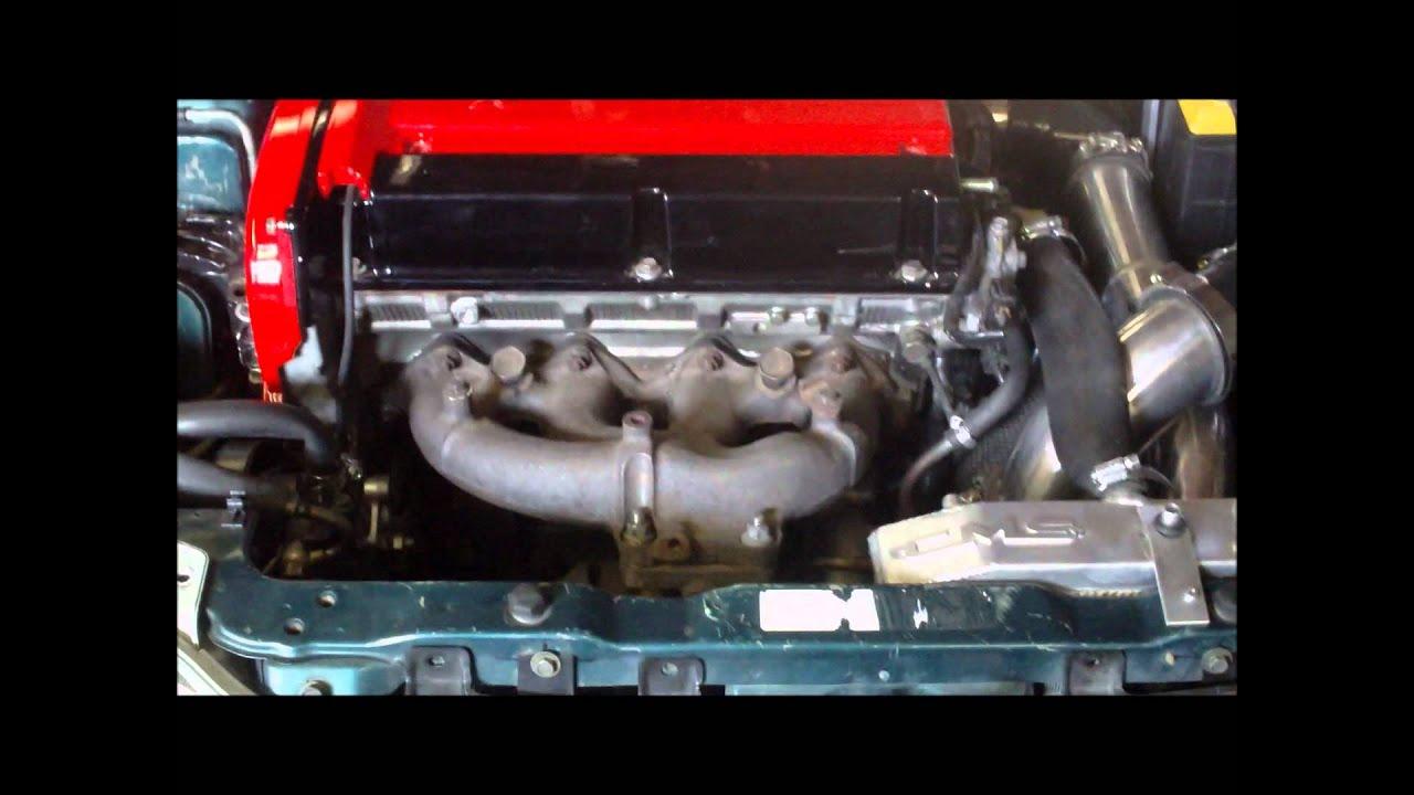 Eclipse 2g Evo Swap Youtube Mitsubishi 4g63t Engine Wiring Harness