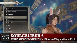 Soulcalibur 6: Libra of Soul custom story mission gameplay - 120 minutes, no commentary.