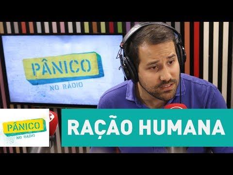 Paulo Matias não fugiu da polêmica da ração humana | Pânico - Dauer: 3 Minuten, 37 Sekunden