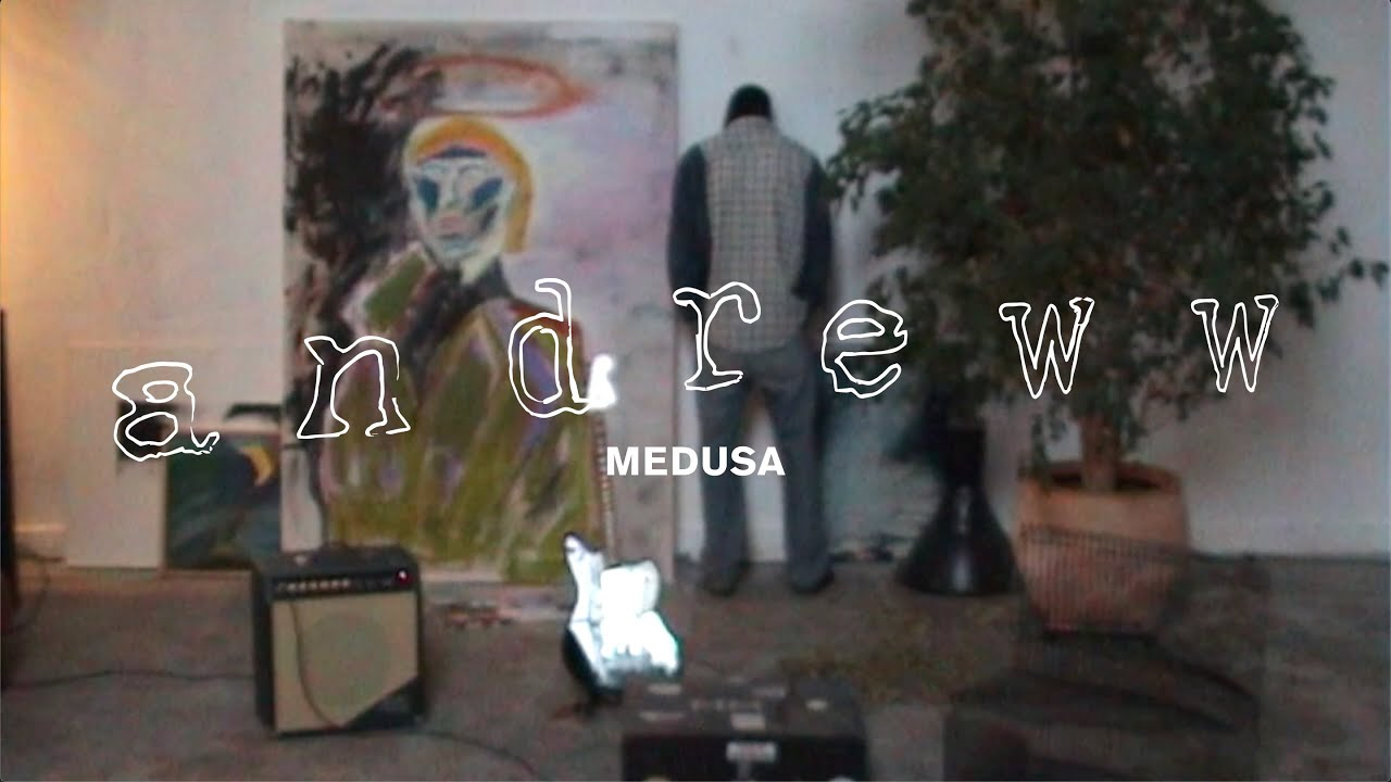 Andreww makes a glorious return to music with his latest single, and video for 'Medusa'