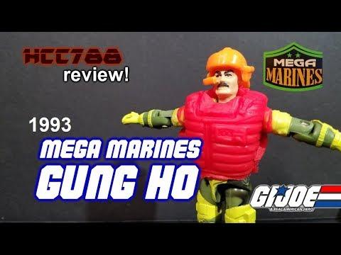 HCC788 - 1993 MEGA MARINES GUNG-HO! Vintage G.I. Joe toy review!