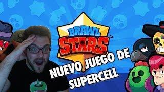 ¡¡ NUEVO JUEGO DE SUPERCELL - BRAWL STARS ESTA INCREIBLE !!