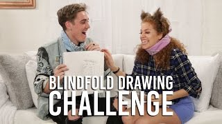 Sammy Wilk Blindfolded Drawing Challenge | Music Monday with Mahogany LOX