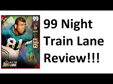 How Good is 99 Overall Night Train Lane? MUT 17 Card Review