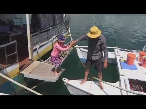 Denizde kaybolan baba-kız 1 ay sonra kurtuldu