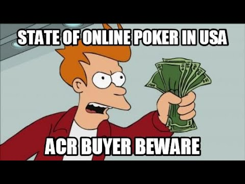 State Of Online Poker In The Us Americas Card Room Review Youtube