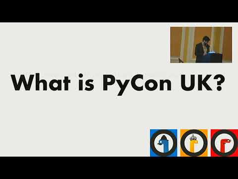 Image from PyCon UK 2017 Thursday Welcome Session