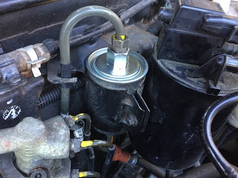 Rover 25 1.4 2002 Petrol Fuel Filter Change Swap Replacement How To