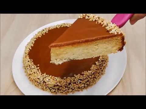 gÂteau-moelleux-et-glaÇage-au-caramel-facile-(-cuisine-rabinette-)