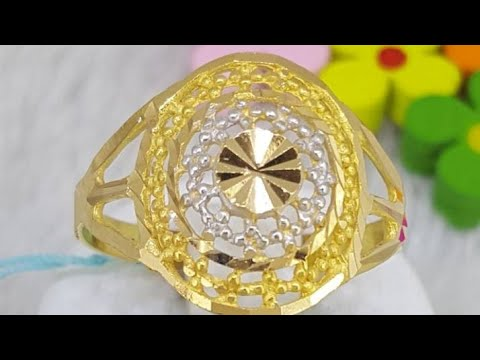 21K Saudi Gold Ring - 100% Real gold!!