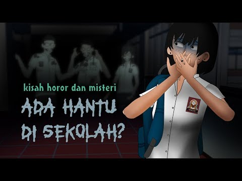Ghosts at School | English sub, Horror Cartoons & animations, Creepypasta Indonesia
