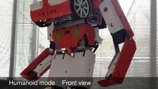 Xuất hiện ô tô biến hình thành robot chiến đấu như 'Transformer'-Yume TTNV