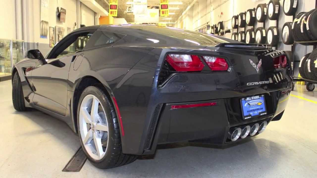 2014 Night Race Blue C7 Corvette Stingray For Sale At Bill