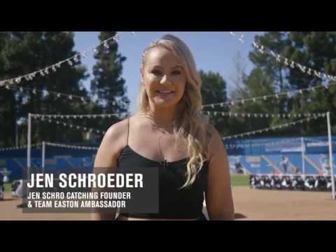 Easton's Jen Schro The Very Best Catcher's Gear: Testimonials Compilation
