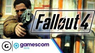 Fallout 4: Bigger Battles, Better Shooting & Less Clunky - Gamescom 2015 Impressions