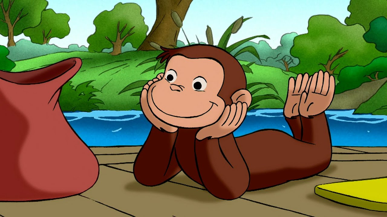 George Loves Animals | Curious George | Animated Cartoons For Children