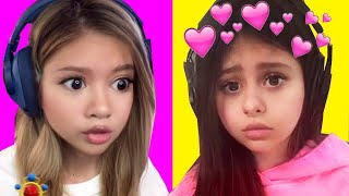 Baby Azzyland Calls Her Crush ! 👶 NEW Snapchat Filters