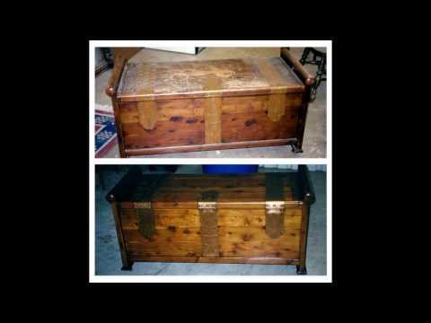 Antique Trunk Restoration In Fort Worth TX 817 424 3355