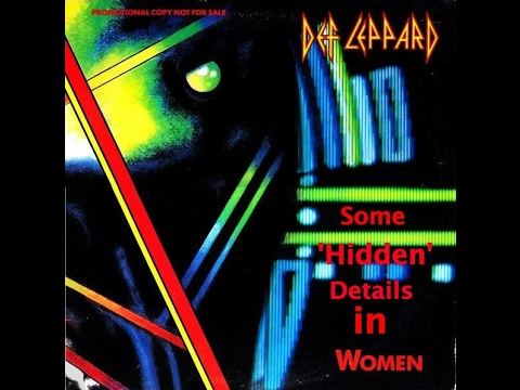 Some Hidden Details in Women  Def Leppard
