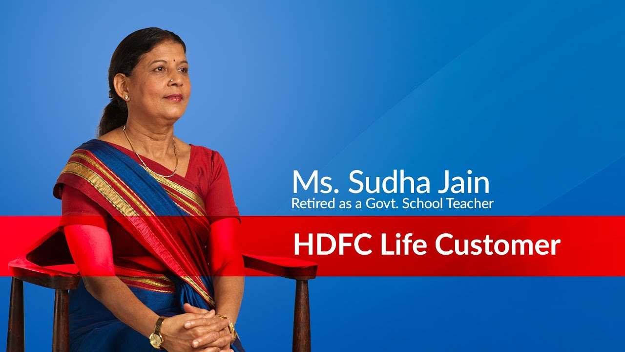 My First Salary After Retirement by HDFC Life, Sudha Jain, Retired as a Govt School Teacher